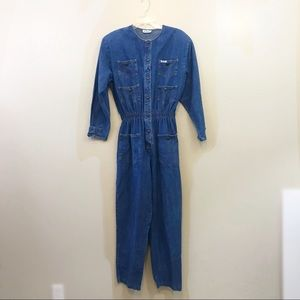 Vintage denim jumpsuit by Dreams Women's large L